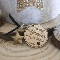 """Porte Clés """"Les clefs du bonheur de ma Maîtresse"""