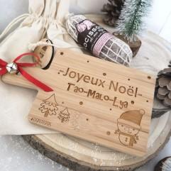 Planche à découper Noël + chocisson