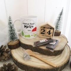 Mug Joyeux Noël Maître + chocolat