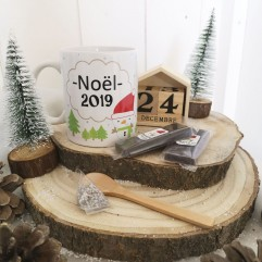 Mug Noël 2019 + chocolat
