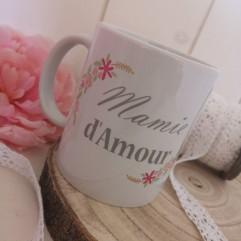 """Mug Grand-Mère """"Jardin"""""""