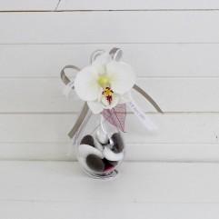 Goutte orchidée