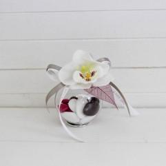 Boule orchidée