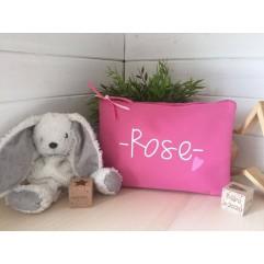 """Pochette """"Family"""" Rose"""