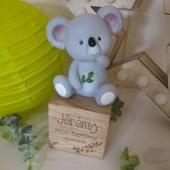 Cube en bois et Koala