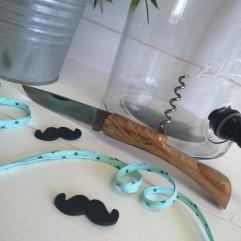 Couteau du terroir tire-bouchon (M)