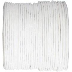 Bobine de fil armé blanc