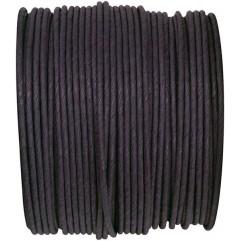 Bobine de fil armé noir
