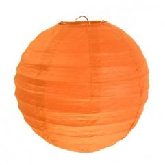 2 Lanternes 20 Cm Orange