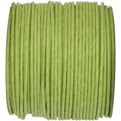 Bobine de fil armé vert