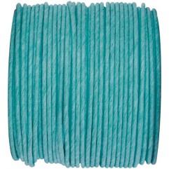 Bobine de fil armé turquoise
