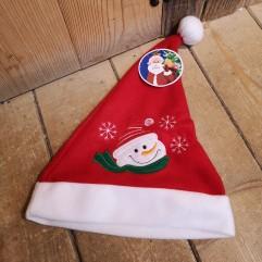 Bonnet en feutrine Père-Noël