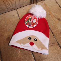 Bonnet en maille Père Noël (GPA)