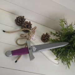 Epée Violette Grandes Médiévales (35cm)