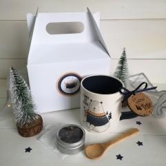 Coffret Mug et thé ourson