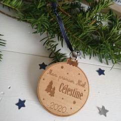 """Boule de Noël """"Mon premier Noël"""" sapin"""