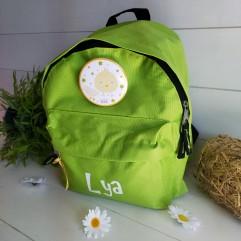 sac à dos vert poussin