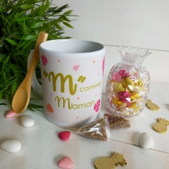 "Mug ""M"" comme Maman"