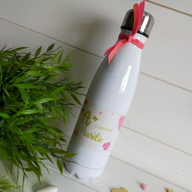 Bouteille isotherme Exotique