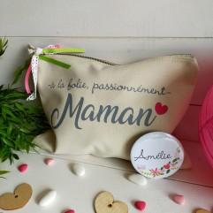 "Grande Trousse beige ""Maman"""