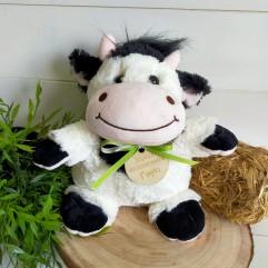 Peluche vache personnalisée