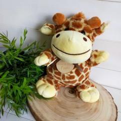 Peluche girafe personnalisée