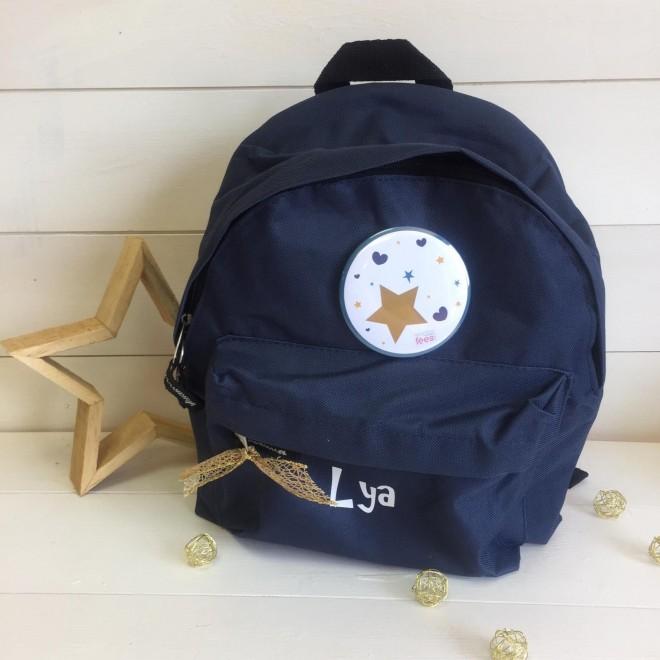 sac à dos marine étoiles