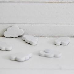 6 nuages blanc