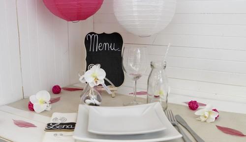 deco mariage orchid e deco pour mariage les p tites f es. Black Bedroom Furniture Sets. Home Design Ideas